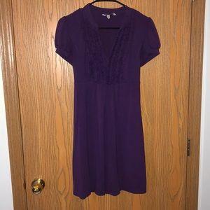 Speechless Medium Purple Dress